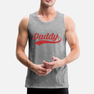 Daddy DADDY - Premium singlet for menn