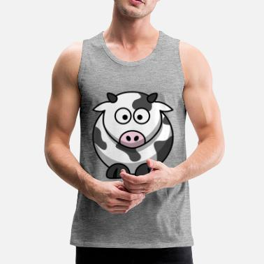 Cow Cow cow - Men's Premium Tank Top