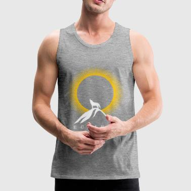 Solar Eclipse - Solar Eclipse - Men's Premium Tank Top