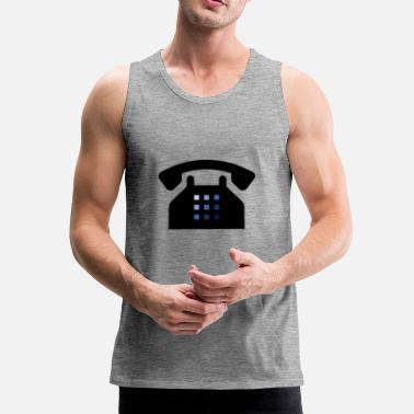 Phone Phone - Men's Premium Tank Top