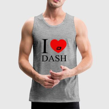 dash black - Men's Premium Tank Top