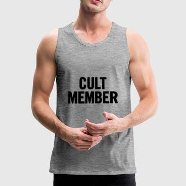 Cult Member Black - Men's Premium Tank Top