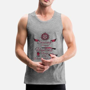 Supernatural Supernatural - Men's Premium Tank Top