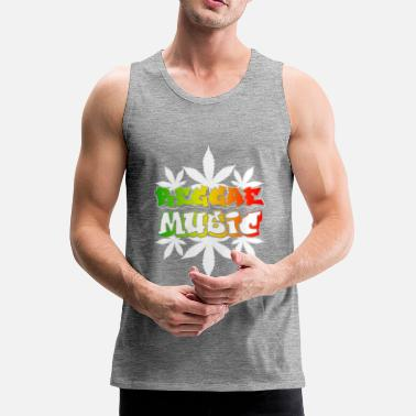 Reggae-music Reggae Music - Men's Premium Tank Top