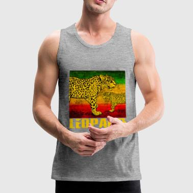 leopard - Men's Premium Tank Top