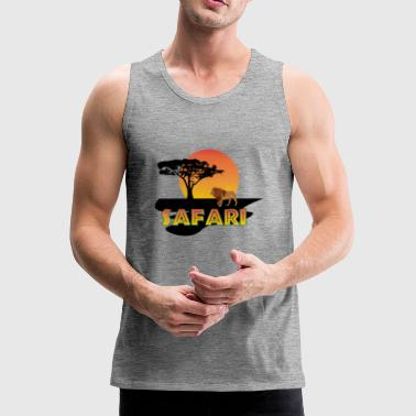 Safari Africa - Men's Premium Tank Top
