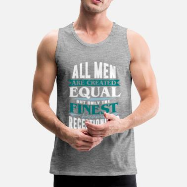 Receptionist Receptionist Reception desk Receptionist reception - Men's Premium Tank Top