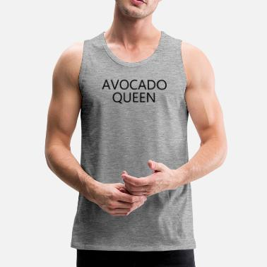 avocado queen - Men's Premium Tank Top