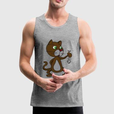 Cat fish - Men's Premium Tank Top
