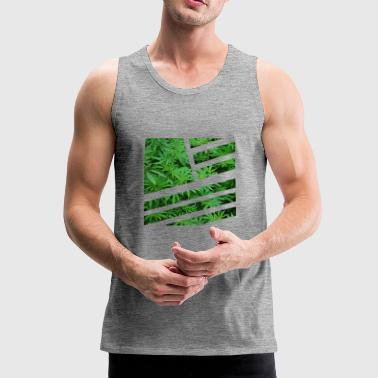 Grass Merika - Men's Premium Tank Top