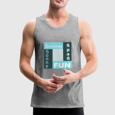 Summer sun fun fun - Men's Premium Tank Top