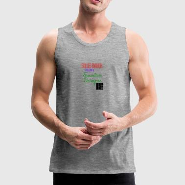 Skilled to become a furniture designer - Men's Premium Tank Top