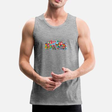 Community World Community - Mannen Premium tank top