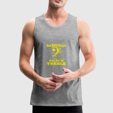 bass players - Men's Premium Tank Top