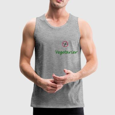 Vegetarian vegetarian - Men's Premium Tank Top