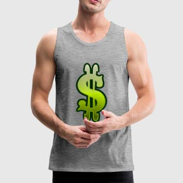 Dollar sign dollar money - Men's Premium Tank Top
