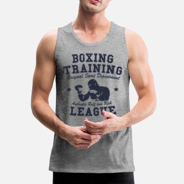 Training boxing training - Débardeur Premium Homme