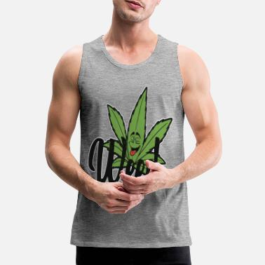 Smoke Weed Smoke Weed - Men's Premium Tank Top