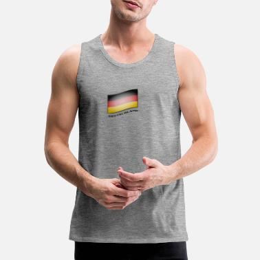 Flag Of Germany Germany flag - Germany flag - Men's Premium Tank Top