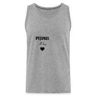 pyjamas Débardeur premium Homme | Spreadshirt