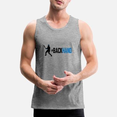 Backhand backhand 01 - Men's Premium Tank Top