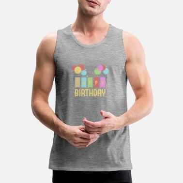 Birthday Kid Happy Birthday Kids Birthday - Men's Premium Tank Top