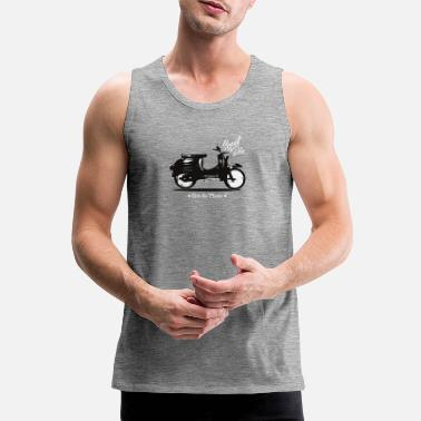 Moped moped - Premium singlet for menn