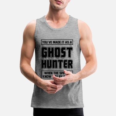Ghost Hunter - Männer Premium Tanktop