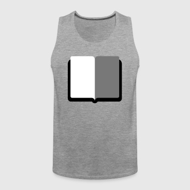 Book - Men's Premium Tank Top