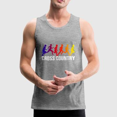 Cool Cross Country T-shirt - Men's Premium Tank Top