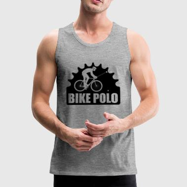 WHEEL POLO - Men's Premium Tank Top