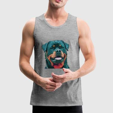 rottweiler 1 - Men's Premium Tank Top