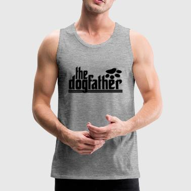 Dogfather - Tank top męski Premium