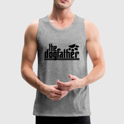 the DOGfather - Men's Premium Tank Top
