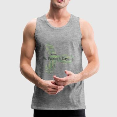 St. Patrick´s Day Parade Collage - Männer Premium Tank Top