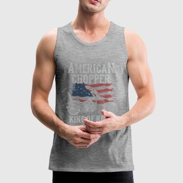 American Chopper - King of Road - Männer Premium Tank Top