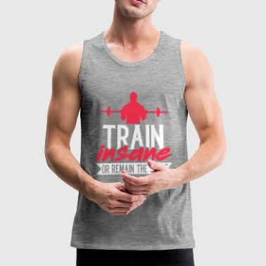Fitness Gym - Mannen Premium tank top