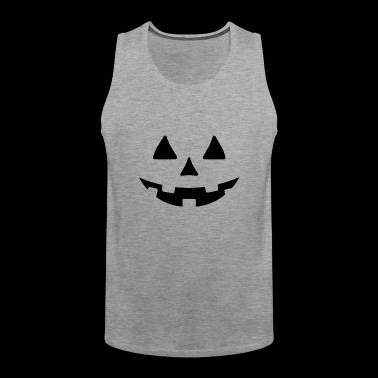 Crazy Pumpkin Halloween Costume -JACK O LATER STYL - Men's Premium Tank Top