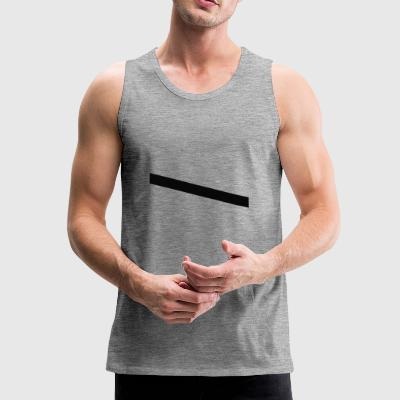 stripes black - Men's Premium Tank Top