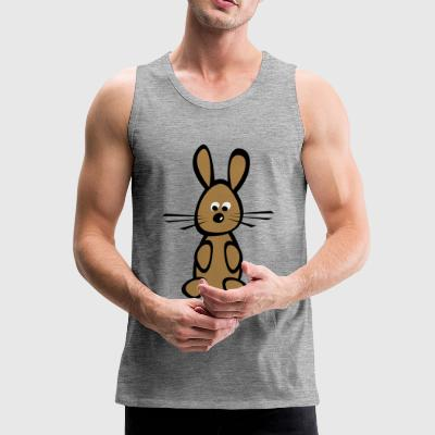 2541614 14765536 bunny - Men's Premium Tank Top