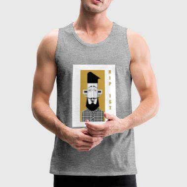 Hipster No2 - Premium singlet for menn