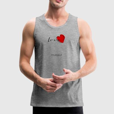 love yourself - Männer Premium Tank Top