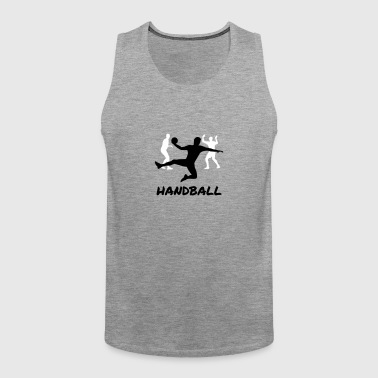 Handball man - Premium singlet for menn
