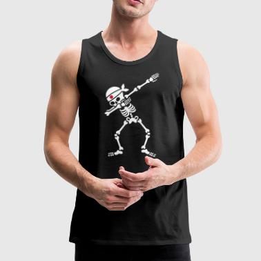 Dab skeleton kamikaze Japan Judo Karate Samurai - Men's Premium Tank Top