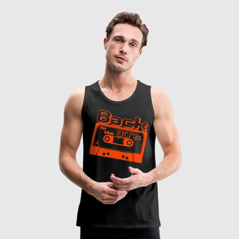 Back to the 80s - Männer Premium Tank Top
