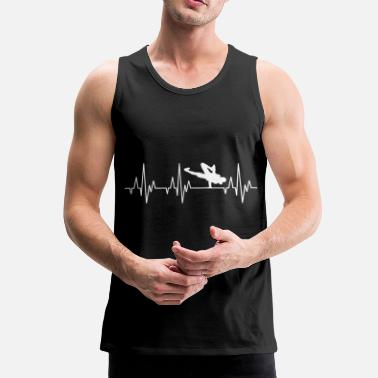 Breakdance Heartbeat ECG Breakdance Breakdance Hip-Hop - Tank top premium hombre