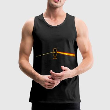 dark side of the Pilatus tulip - Men's Premium Tank Top