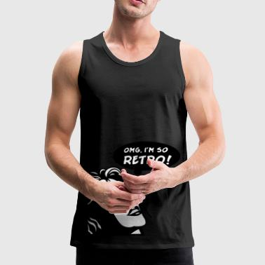 so retro - Premium singlet for menn