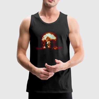 Nuclear accident - mushroom cloud - Armageddon - nuclear weapon - Men's Premium Tank Top