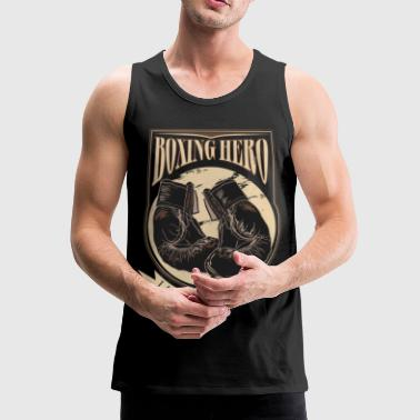 Boxing Hero - The Greatest - On Dark - Herre Premium tanktop